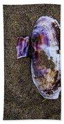 Fallen Butterfly Bath Towel