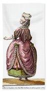 Fashion: French, 1778 Bath Towel