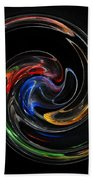 Feel Happy-colorful Digital Art That Can Enhance Your Mood Hand Towel