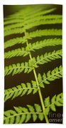 Fern Pattern Bath Towel