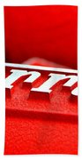 Ferrari Intake Bath Towel