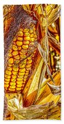 Field Corn Ready For Harvest Bath Towel
