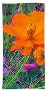 Field Of Flowers Bath Towel