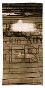 Film Homage Gregg Toland John Ford Henry Fonda The Grapes Of Wrath 2 1940 Ft. Steele Wy 1971-2008 Bath Towel