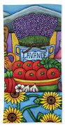 Flavours Of Provence Bath Towel
