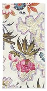 Floral Design Bath Towel