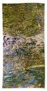 Florida Alligator Bath Towel