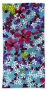 Flower Fantasy Guatemala Bath Towel