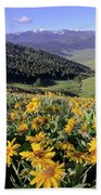 Spring In The Mountains Bath Towel