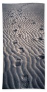 Footprints Bath Towel