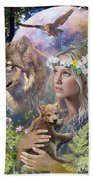Forest Friends Bath Towel