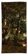 Forest Of Fontainebleau Bath Towel