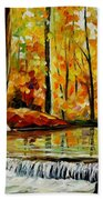 Forest Stream Bath Towel