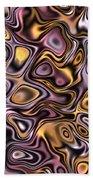 Fractal Modern Art Seamless Generated Texture Bath Towel