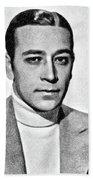 George Raft, Vintage Actor By Js Hand Towel