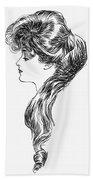 Gibson Girl, 1903 Bath Towel