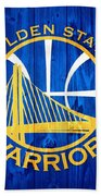 Golden State Warriors Door Bath Towel