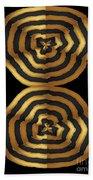 Golden Waves Hightide Natures Abstract Colorful Signature Navinjoshi Fineartartamerica Pixels Bath Towel