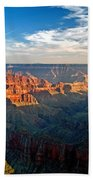 Grand Canyon National Park - Sunset On North Rim Bath Towel