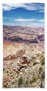 Grand Canyon View From The South Rim, Arizona Bath Towel