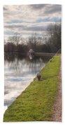 Grand Union Canal Rickmansworth Bath Towel