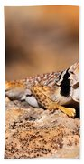 Great Basin Collared Lizard Bath Towel