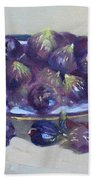 Greek Figs Bath Towel