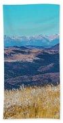 Grouse Mountain And Sangre De Cristo Bath Towel