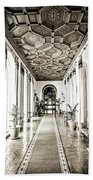 Hallway Of Elegance Bath Towel