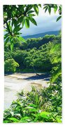 Hamoa Beach Hana Maui Hawaii Bath Towel