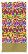 Happy Celebrations Abstract Acrylic Painting Fineart From Navinjoshi At Fineartamerica.com These Gra Hand Towel