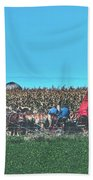 Harvest In Amish Country - Elkhart County, Indiana Bath Towel