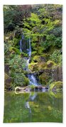 Heavenly Falls In Spring Hand Towel