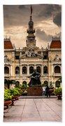 Ho Chi Minh City Hall Bath Towel