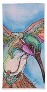 Hummingbird Bath Towel