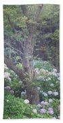 Hydrangea Flowers  Hand Towel