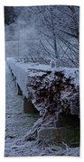 Ice Bridge Bath Towel