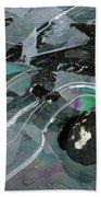 1. Ice Prismatics, Loch Tulla Bath Towel