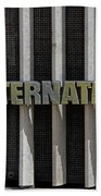 International Semi Truck Emblem Hand Towel
