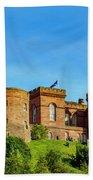 Inverness Castle, Scotland Bath Towel