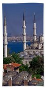 Istanbul's Blue Mosque Bath Towel