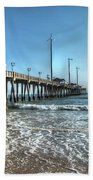 Jennettes Pier Nags Head North Carolina Bath Towel