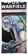 Jerry Garcia - San Francisco Bath Towel