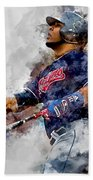 Jose Ramirez Bath Towel