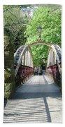 Jubilee Bridge - Matlock Bath Bath Towel