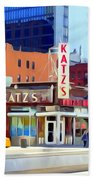 Katz's Delicatessan Bath Towel