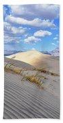 Kelso Dunes Desert Landscape Bath Towel
