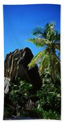 La Digue Island - Seychelles Bath Towel