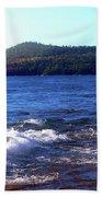 Lake Superior Landscape Bath Towel