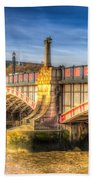 Lambeth Bridge London Bath Towel